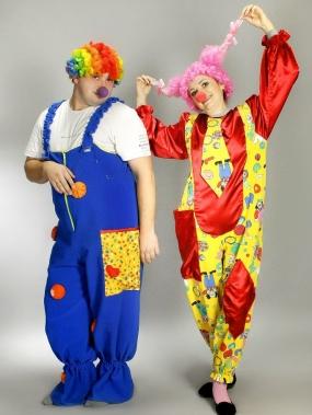 Клоуны №17м, 18м